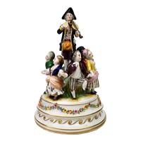Figurální porcelánové sousoší