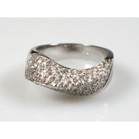 Prsten s brilianty 0,80 ct